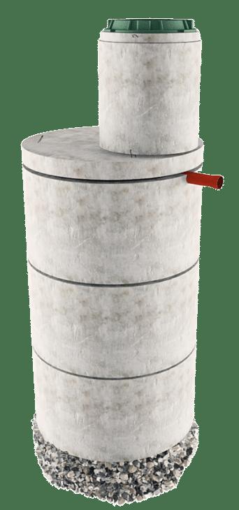 Септик из бетонных колец в Солнечногорском районе